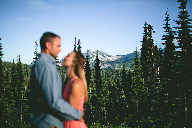 mt rainier couple photography