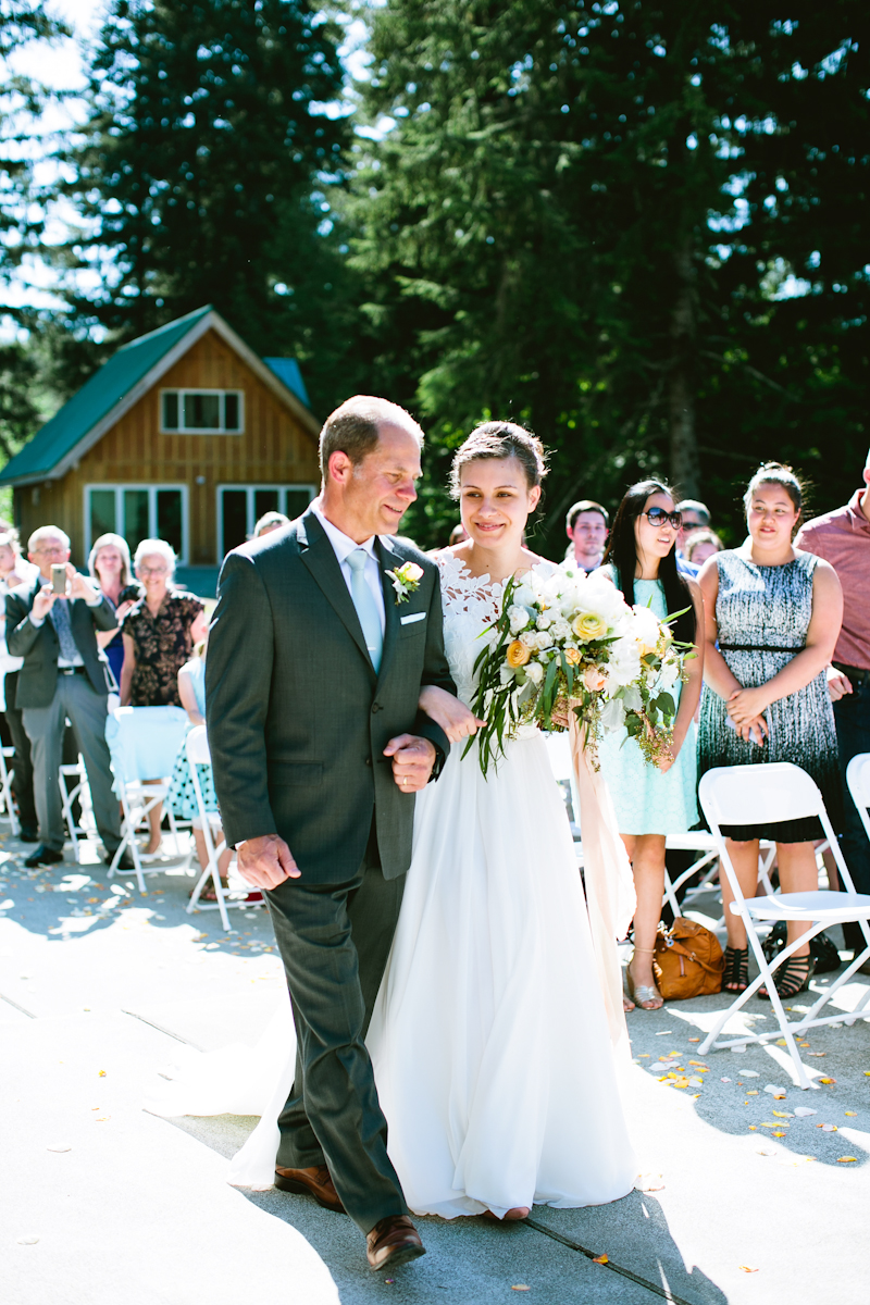 mt rainier wedding